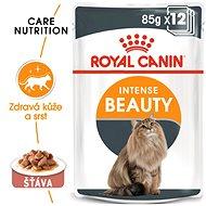 Kapsička pre mačky Royal Canin Intense Beauty Gravy 12× 85 g