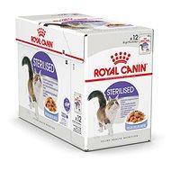 Kapsička pre mačky Royal Canin Sterilised Jelly 12× 85 g