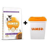 IAMS Dog Puppy Small & Medium Chicken 12 kg + IAMS Dog Adult Large Lamb 12 kg