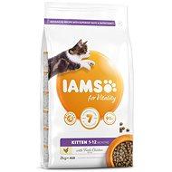 IAMS Cat Kitten Chicken 2kg - Granuly pre mačiatka