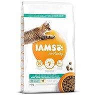 IAMS Cat Adult Weight Control/Sterilized Chicken 10kg - Granuly pre mačky