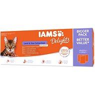 Kapsička pre mačky Kapsičky IAMS morské a suchozem. mäso v omáčke multipack 4 080 g