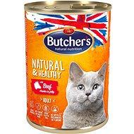 Butcher's Classic konzerva s hovädzím mäsom 400 g - Konzerva pre mačky