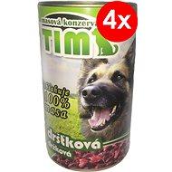 TIM 1 200 g držková, 4ks - Konzerva pre psov