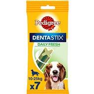 Pedigree DentaStix Fresh Medium 7 ks 180 g - Maškrty pre psov