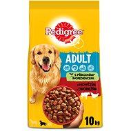 Pedigree granule pre psov Adult s hovädzím a hydinou 10 kg - Granuly pre psov