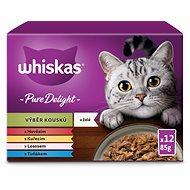 Whiskas kapsičky Casserole mixovaný výber v želé 12× 100 g - Kapsička pre mačky