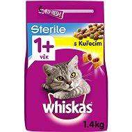 Whiskas granule Sterile s kuracím 1,4 kg - Granuly pre mačky