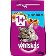 Whiskas granule s tuniakom 1,4 kg - Granuly pre mačky
