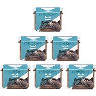 Konzerva pre mačky Rybičkový Hundebar pre mačičky 6 × 200 g