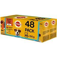 Pedigree Vital Protection mäsový výber v želé 48× 100 g - Kapsička pre psov
