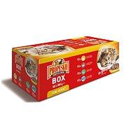 Propesko mix mäsa a ryby 48× 100 g - Kapsička pre mačky