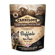 Kapsička pre psov Carnilove Dog Pouch Paté Buffalo with Rose Petals 300 g