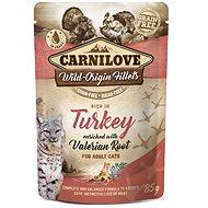 Carnilove Cat Pouch Rich in Turkey Enriched with Valerian 85 g - Kapsička pre mačky