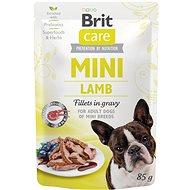 Kapsička pre psov Brit Care Mini Lamb Fillets in Gravy 85 g