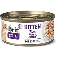 Brit Care Cat Kitten Tuna Fillets 70 g - Konzerva pre mačky