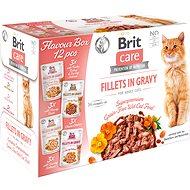 Brit Care Cat Flavour box Fillet in Gravy (12× 85 g) - Kapsička pre mačky