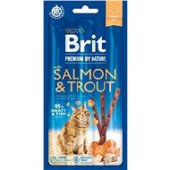 Brit Premium by Nature Cat Sticks with Salmon & Trout 3 ks - Maškrty pre mačky
