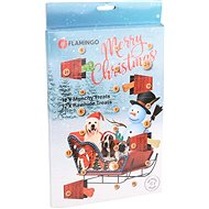 Flamingo Adventný kalendár Munchy/RAW maškrty pre psov - Adventný kalendár pre psov