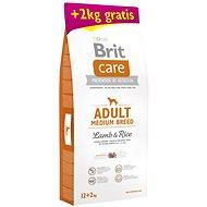 Brit Care Adult Medium Breed Lamb & Rice 12 + 2 kg - Granuly pre psov