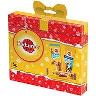 Pedigree vianočný balíček s pamlskami pre psov 237 g - Darčekový balíček pre psov