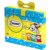 Dreamies vianočný balíček s maškrtami pre mačky 120 g - Darčekový balíček pre mačky