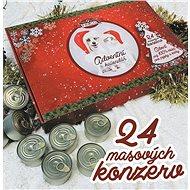 Falco Adventný kalendár pre psov a mačky 24× 120 g - Adventný kalendár pre psov