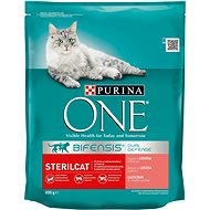 Purina ONE Bifensis Sterilcat s lososom a pšenicou 800 g - Granuly pre mačky