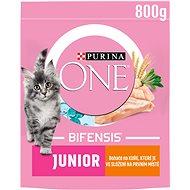 Purina ONE Bifensis Junior s kuracím a celozrnnými obilninami 800 g - Granuly pre mačiatka