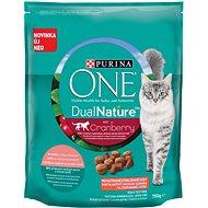 Purina ONE Dual Nature Sterilized Brusnica s lososom 750 g - Granuly pre mačky