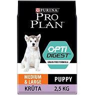 Pro Plan medium & large puppy optidigest grain free morka 2,5 kg - Granuly pre šteniatka