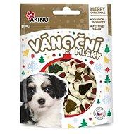 Akinu MLSKA Vianočné bonbóniky pre psov 80 g - Maškrty pre psov