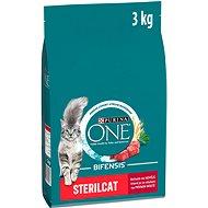 Purina ONE sterilcat s hovädzím 3 kg - Granuly pre mačky