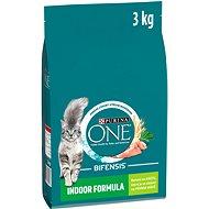 Purina ONE indoor s morkou 3 kg - Granuly pre mačky