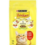 Friskies s hovädzím a s kuraťom a so zeleninou 10 kg - Granule pre mačky