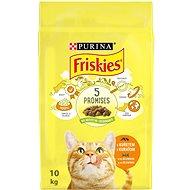 Friskies s kuraťom a so zeleninou 10 kg - Granule pre mačky