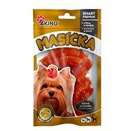 Sušené mäso pre psov Akinu Kuracie prúžky pre psov 75 g