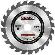 Kreator KRT020420, 210 mm - Pílový kotúč na drevo