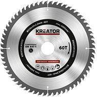 Kreator KRT020422, 210 mm - Pílový kotúč na drevo