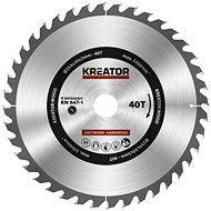 Kreator KRT020427, 254 mm - Pílový kotúč na drevo