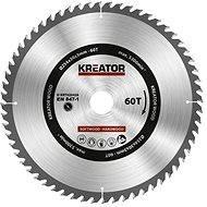 Kreator KRT020428, 254 mm - Pílový kotúč na drevo