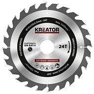 Kreator KRT020414, 185 mm, 24T - Pílový kotúč na drevo