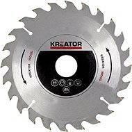 Kreator KRT021600, 165 mm - Pílový kotúč na drevo