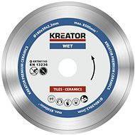 Kreator KRT081103, 180 mm - Diamantový kotúč