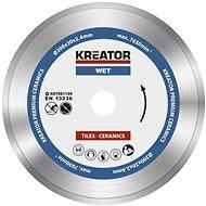 Kreator KRT081104, 200 mm - Diamantový kotúč