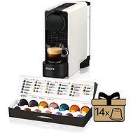 Nespresso Krups XN510111 Essenza Plus White - Capsule Coffee Machine