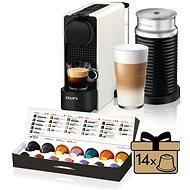 Nespresso Krups XN511110 Essenza Plus White & Aeroccino - Kávovar na kapsuly