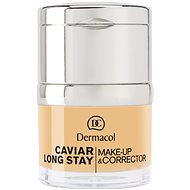 DERMACOL Caviar Long Stay Make-Up & Corrector Fair 30 ml - Make up