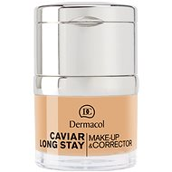DERMACOL Caviar Long Stay Make-Up & Corrector Nude 30 ml - Make up
