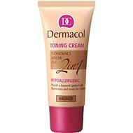 BB krém DERMACOL Toning Cream 2 in 1 Bronze 30 ml - BB krém